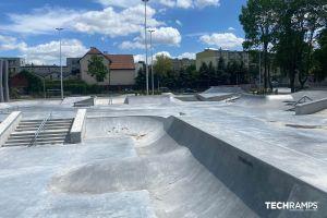 Techramps бетонски скејт -парк