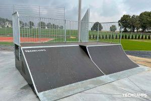 Techramps модуларен скејт -парк