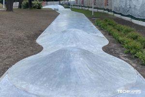 Techramps betonový skatepark