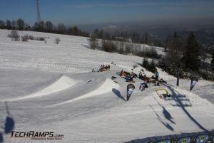 Techramps Budowa snowparku w Witowie Ski