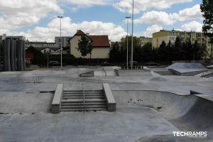 Techramps concrete skatepark