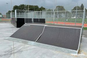 Techramps modular skatepark