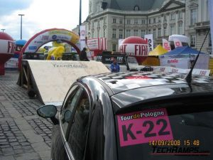 Techramps na Tour de Pologne - Warszawa - 5