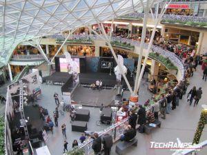 Techramps pokazy sportów miejskich Złote Tarasy
