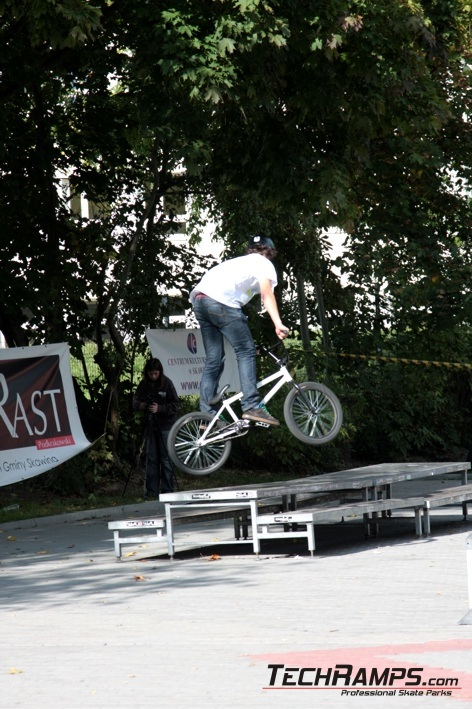 Techramps Puchar Małopolski BMX Street Jam