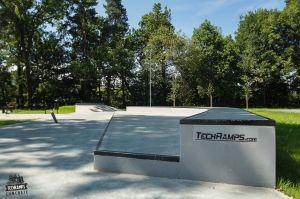 Techramps Skatepark w Rabce Zdroju