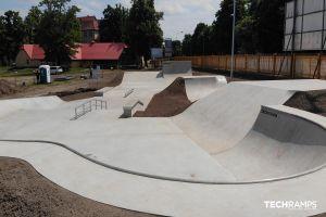 Techramps Бетонний скейтпарк Techrampsskatepark