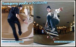 Test poola w System Skateboarding Magazine vol. 4 - 5