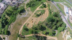 tor rowerowy Olkusz dirt park pumptrack