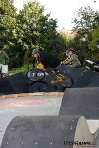 Tory rowerowe do Pump trucka - testy 2