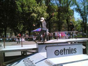 Unimil etnies skatepark