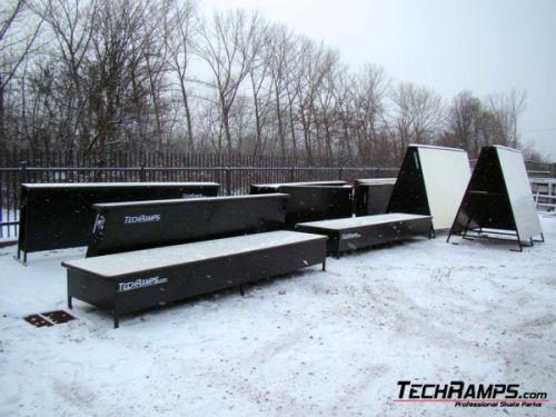 Снежен парк Village Park - Свјерадов-Здрој