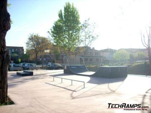 Villarejo Skatepark panorama
