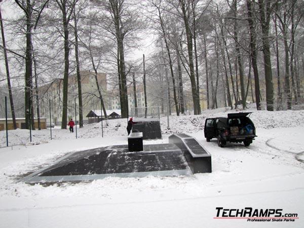 Скејтпарк во Wedrzyn