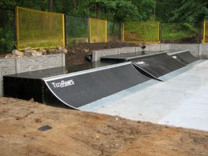 Woodcamp skatepark 2