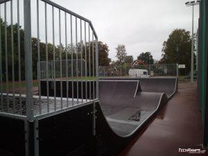 Wooden mini spin ramp in Warmińsko-Mazurskie