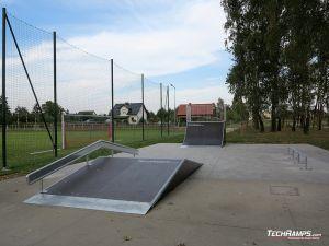 Wooden skatepark Kaźmierz