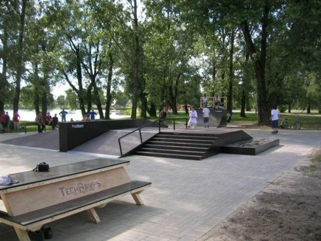 Скејтпарк во Кротошин