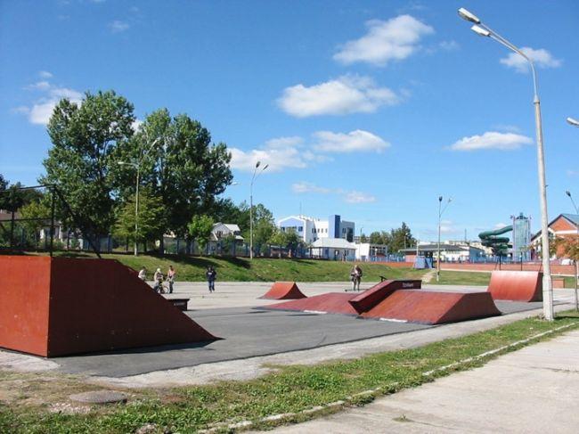Скејтпарк во Новини