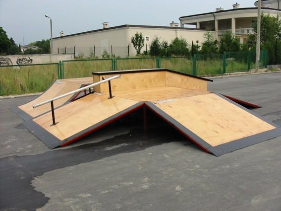Скејтпарк во Гројец