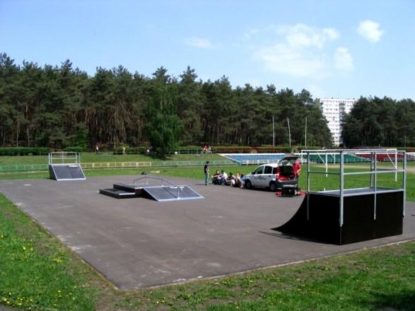 Скејтпарк во Влоцлавек