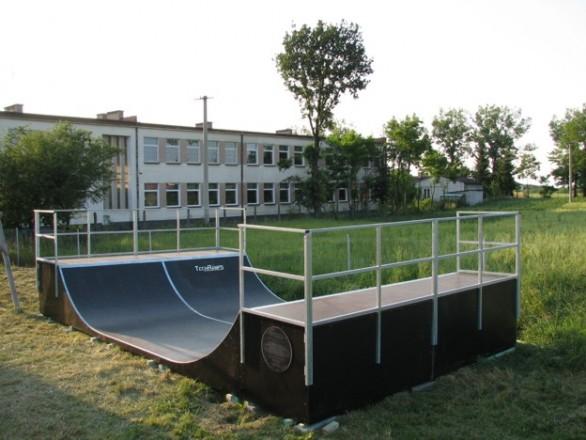 Скејтпарк во Александров Кујавски