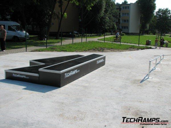 Скејтпарк во Варшава