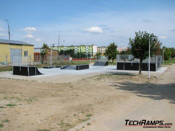Скејтпарк во Полањец
