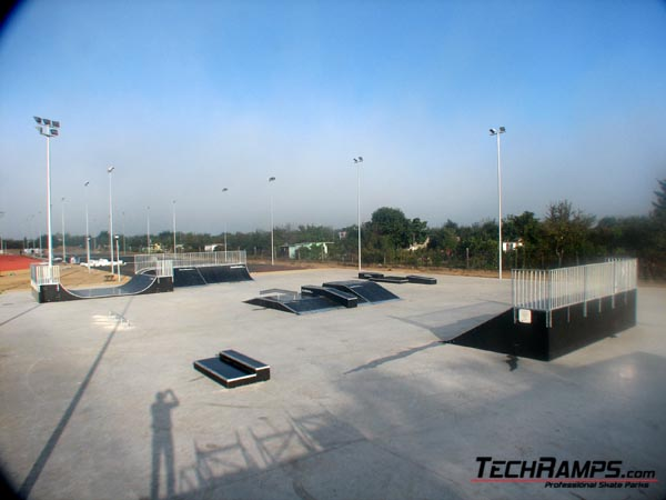 Скејтпарк во Полковице