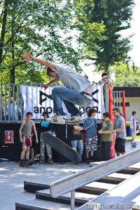 Skateboard Jam w Brzeszczach