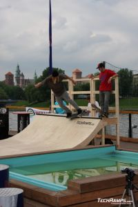 Techramps / Cool Sport  Skate-Boat Contest