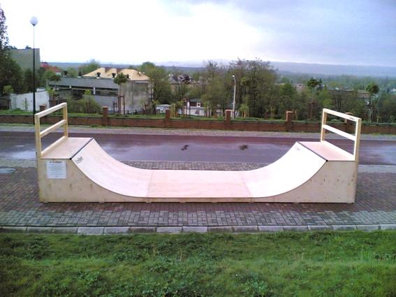 Скејтпарк во Тшебина
