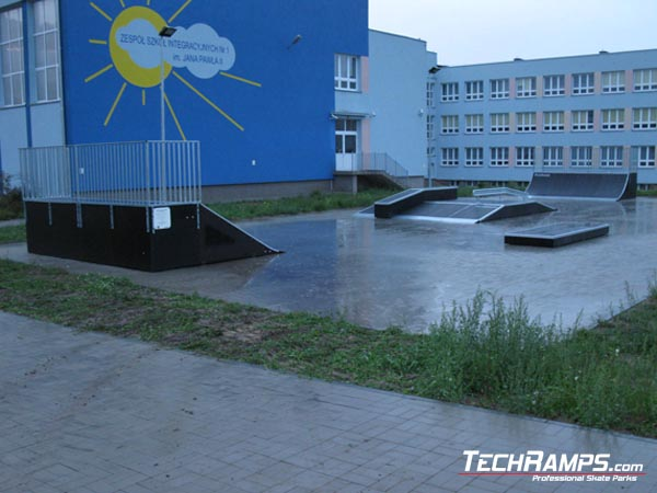 Скејтпарк во Бјалисток