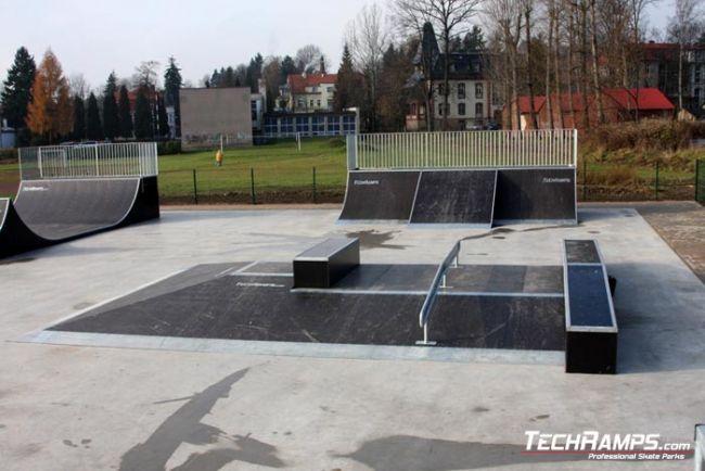 Скејтпарк во Кудова-Здрој
