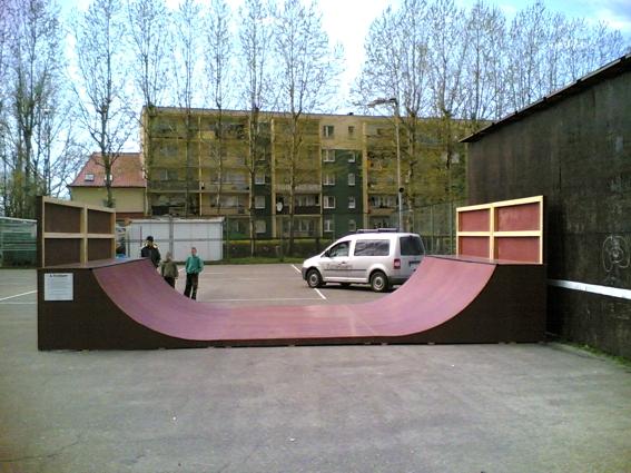 Скејтпарк во Устка