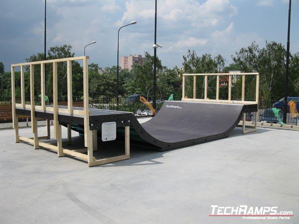 Скејтпарк во Радом