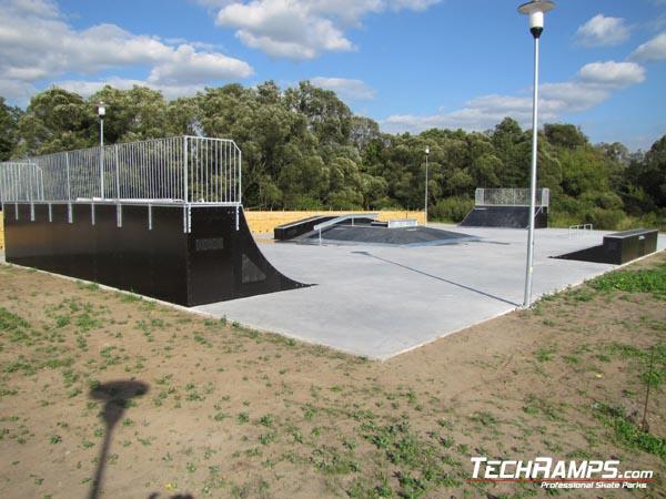 Скејтпарк во Сиевиеж