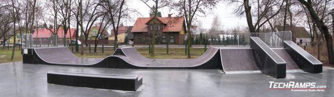 Скејтпарк во Остров Мазовецка