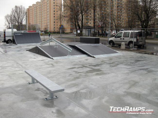 Скејтпарк во Варшава Бемово