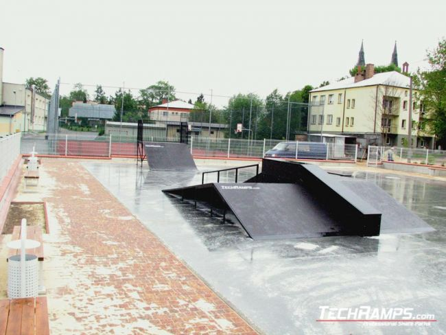 Скејтпарк во Лошице