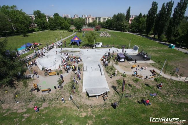 Скејтпарк во Краков