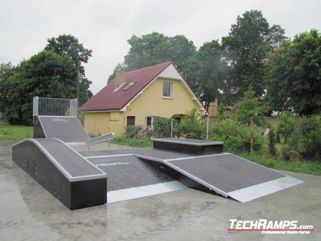 Скејтпарк во Богданец