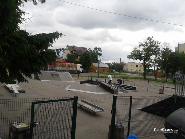 Скејтпарк во Пшасниш - проширување