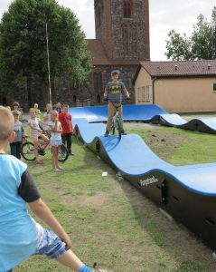 Pumptrack in Boleszkowice (PL)