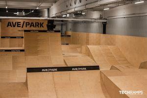 Затворен скејтпарк во Варшава