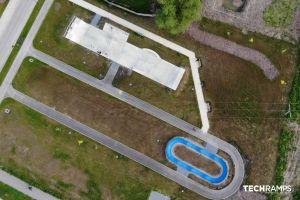 Изградивме бетонски скејт -парк во Шачини. Покрај овој објект, исто така беше изградена модуларна велосипедска патека, односно пумпа, како дополнителна атракција за локалната заедница.
