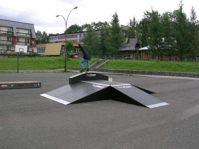 Скејтпарк во Закопане