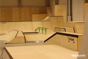 Затворен скејт -парк во Краков