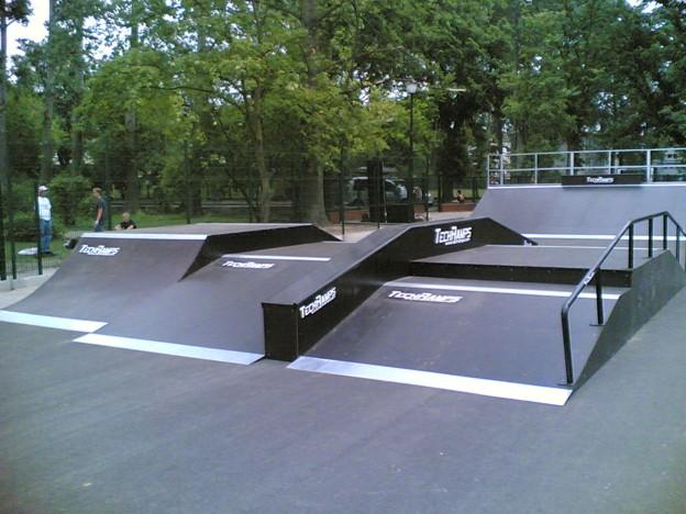 Скејтпарк во Свиноујшќе