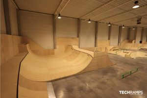 Year-round indoor skatepark